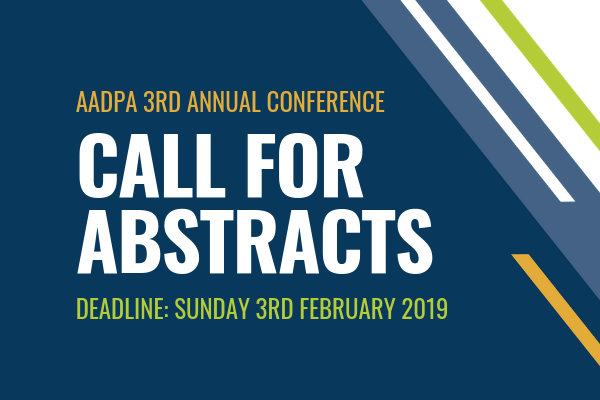 AADPA Conference - Call For Abstracts