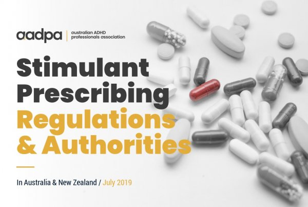 ADHD Stimulant Prescribing Regulations and Authorities - Australia and New Zealand