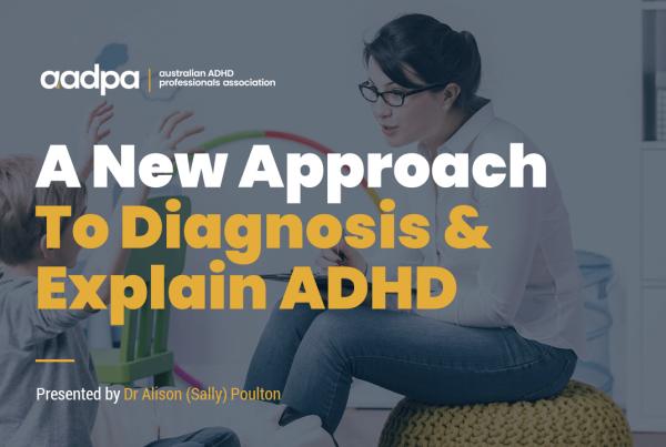 Dr Alison Poulton ADHD Webinar