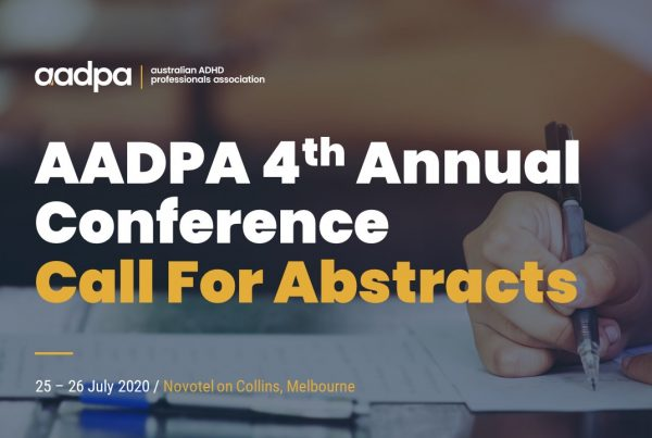 AADPA 4th Annual Conference - Call For Abstracts
