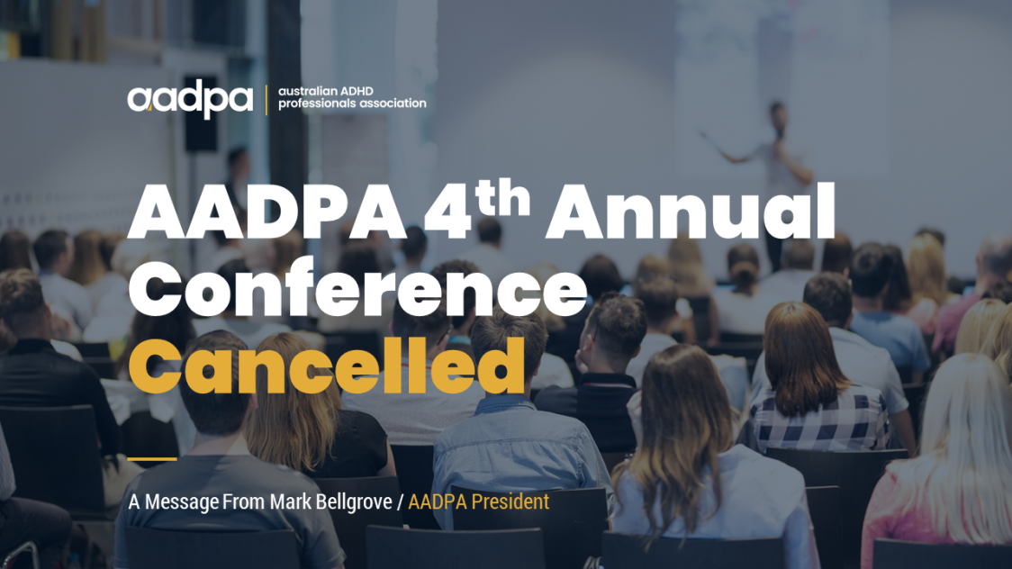 AADPA 4th Annual Conference - Cancelled Due To COVID-19