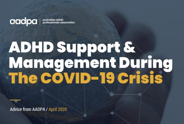 ADHD support and management during the COVID-19 crisis