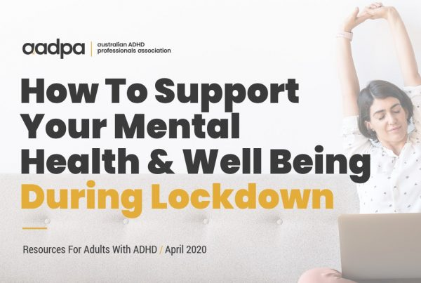 How To Support Your Mental Health and Well Being During COVID-19 Lockdown