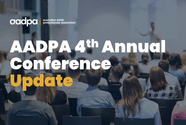 AADPA 4th Annual Conference - 2021 update to members