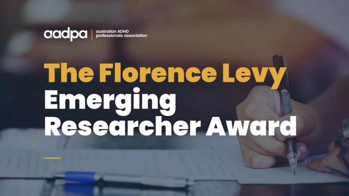 Professor Florence Levy Emerging Researcher Award